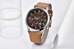 Zegarek North Iceland brązowy