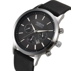 Zegarek North Iceland czarny 6