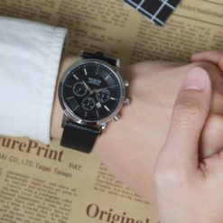 Zegarek North Iceland czarny 4