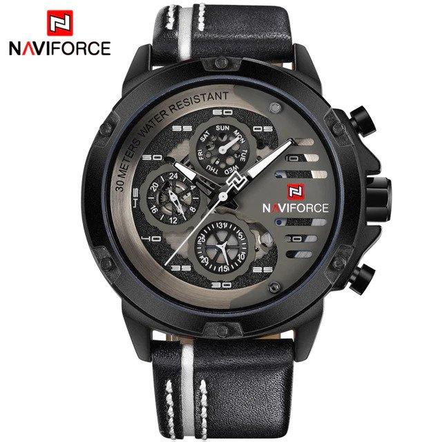 Zegarek Naviforce Maverick biały 6