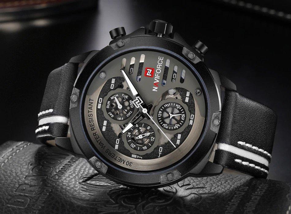 Zegarek Naviforce Maverick biały 7