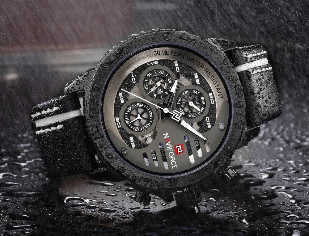 Zegarek Naviforce Maverick biały 9