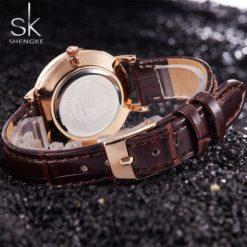 Zegarek Shengke Milan czarny 5
