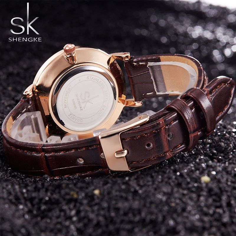 Zegarek Shengke Milan czarny 7