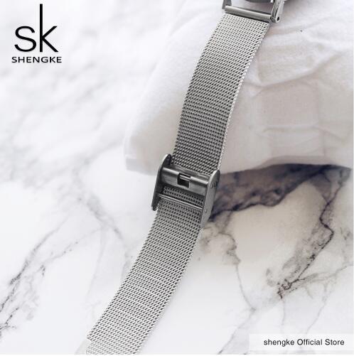Zegarek Shengke Milan srebrny 13