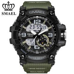 Zegarek Smael Military zielony 4
