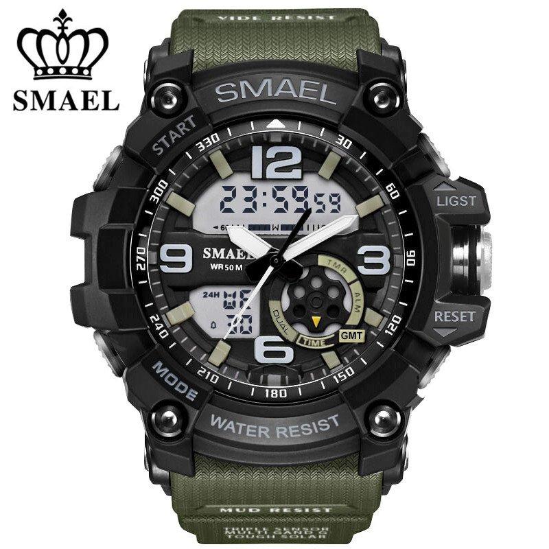 Zegarek Smael Military zielony 5