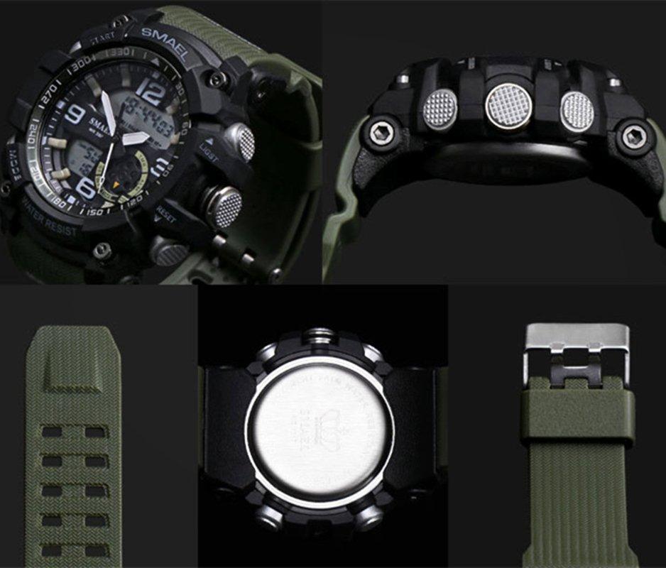 Zegarek Smael Military zielony 6