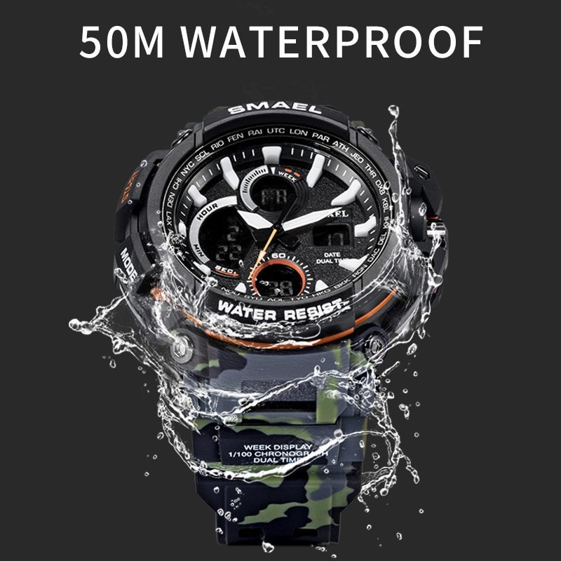 Zegarek Smael Hunter V1 moro 11