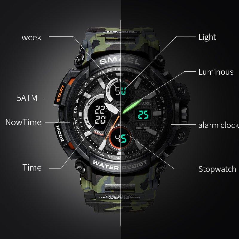 Zegarek Smael Hunter V1 moro 12