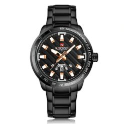 Zegarek Naviforce Patriot czarny-złoty 2