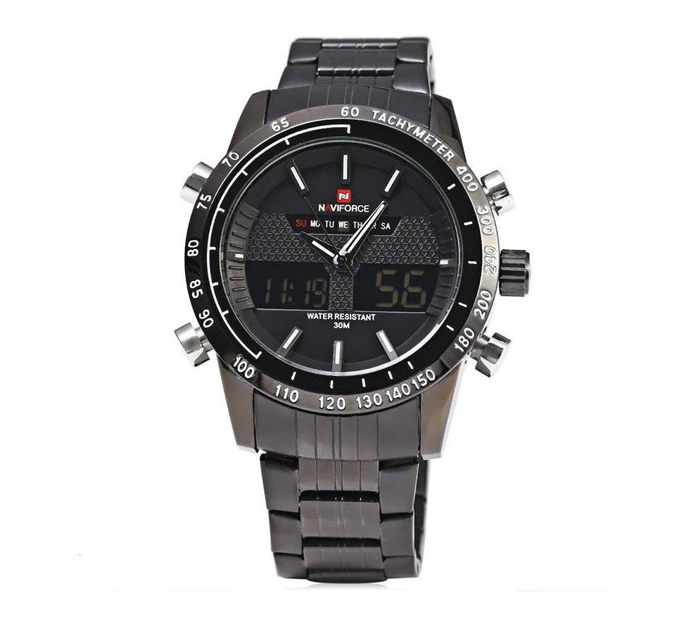 Zegarek Naviforce Power czarny biały 1