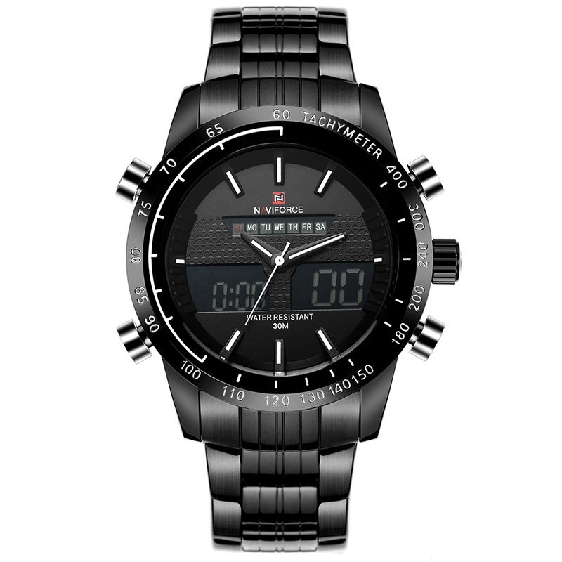 Zegarek Naviforce Power czarny biały 4