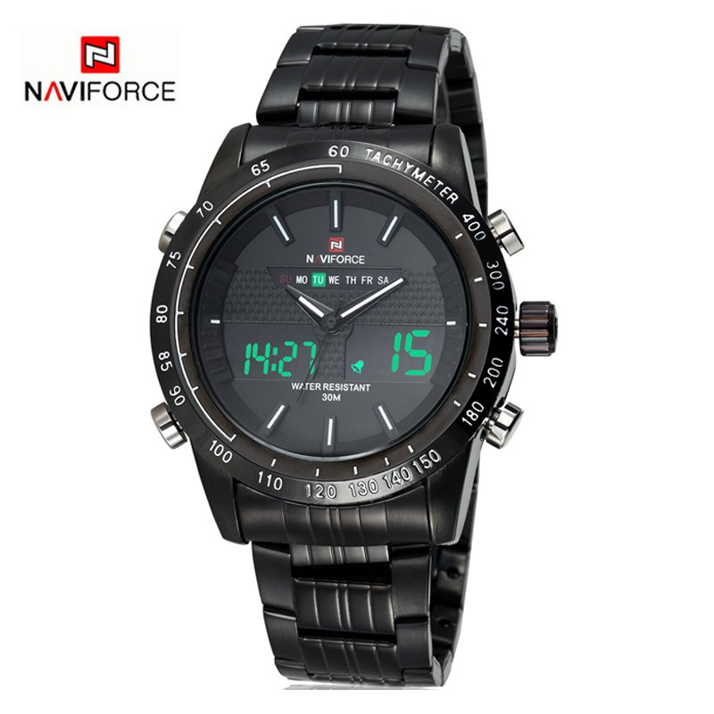 Zegarek Naviforce Power czarny biały 8