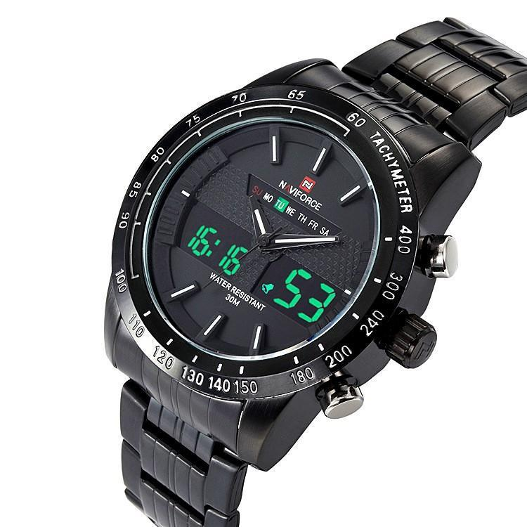Zegarek Naviforce Power czarny biały 9