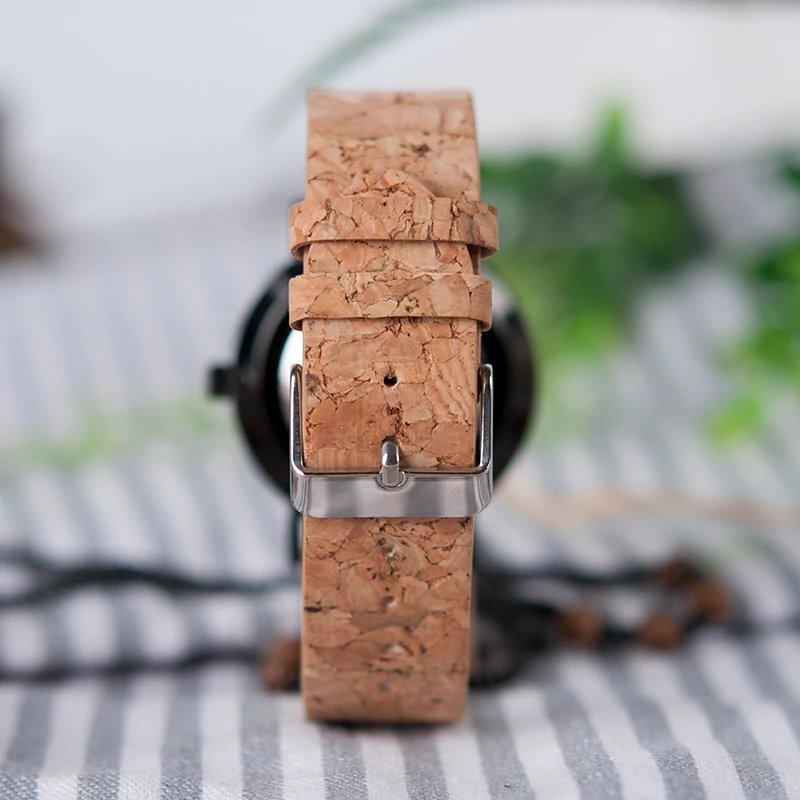 Zegarek drewniany Bobo Bird Cork E19 14