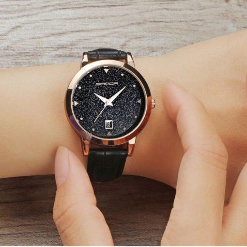 Zegarek Sanda Star czarny 2