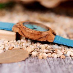Zegarek drewniany Bobo Bird Lazur C28-1 2