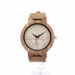 Zegarek drewniany Bobo Bird Pattern C19 2