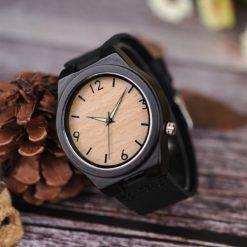 Zegarek drewniany Bobo Bird Glow B11