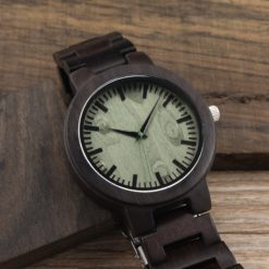Zegarek drewniany Bobo Bird Shade Green C29 bransoleta 1