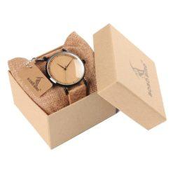 Zegarek drewniany Bobo Bird Cork E19 2