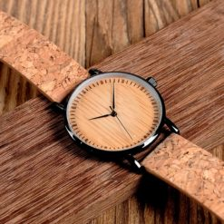 Zegarek drewniany Bobo Bird Cork E19 1