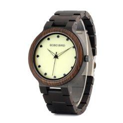Drewniany zegarek Bobo Bird Top P04-1
