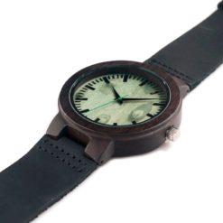 Zegarek drewniany Bobo Bird Shade Green C25 pasek