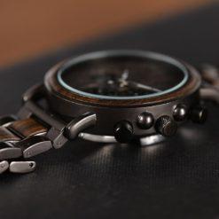 Zegarek drewniany Bobo Bird Max Dark Q26-1 2