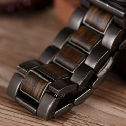 Zegarek drewniany Bobo Bird Max Dark Q26-1 3