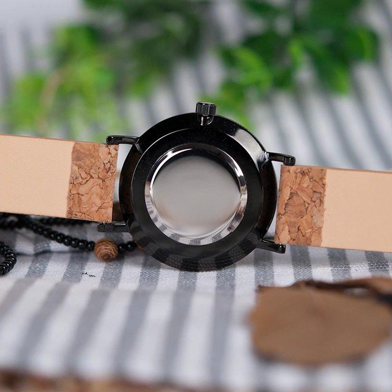 Zegarek drewniany Bobo Bird Cork E19 10
