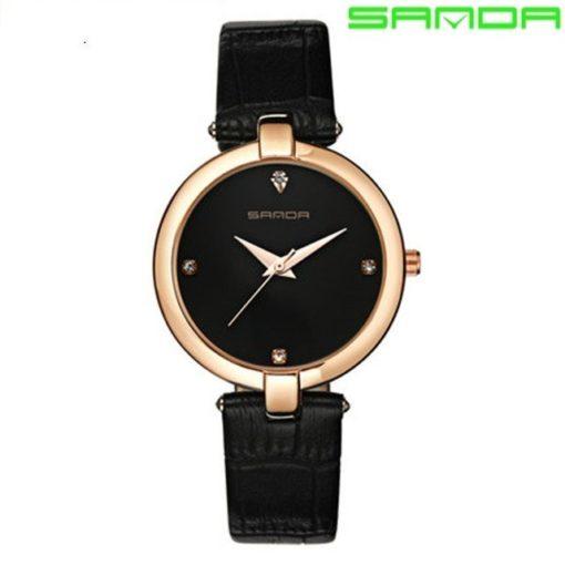 Zegarek Sanda Diamond czarny