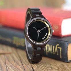 Zegarek drewniany Bobo Bird Shine Dark P16-1