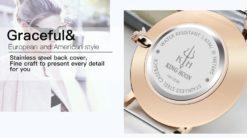 Zegarek King Hoon Star miedziany biały 12