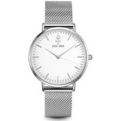 Zegarek King Hoon Star srebrny