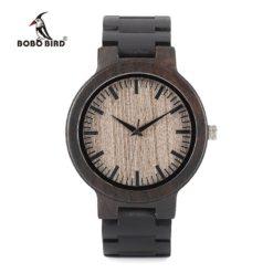 Drewniany zegarek Bobo Bird Shade C30
