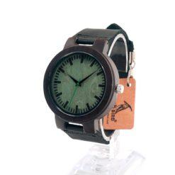 Drewniany zegarek Bobo Bird Shade Green C25