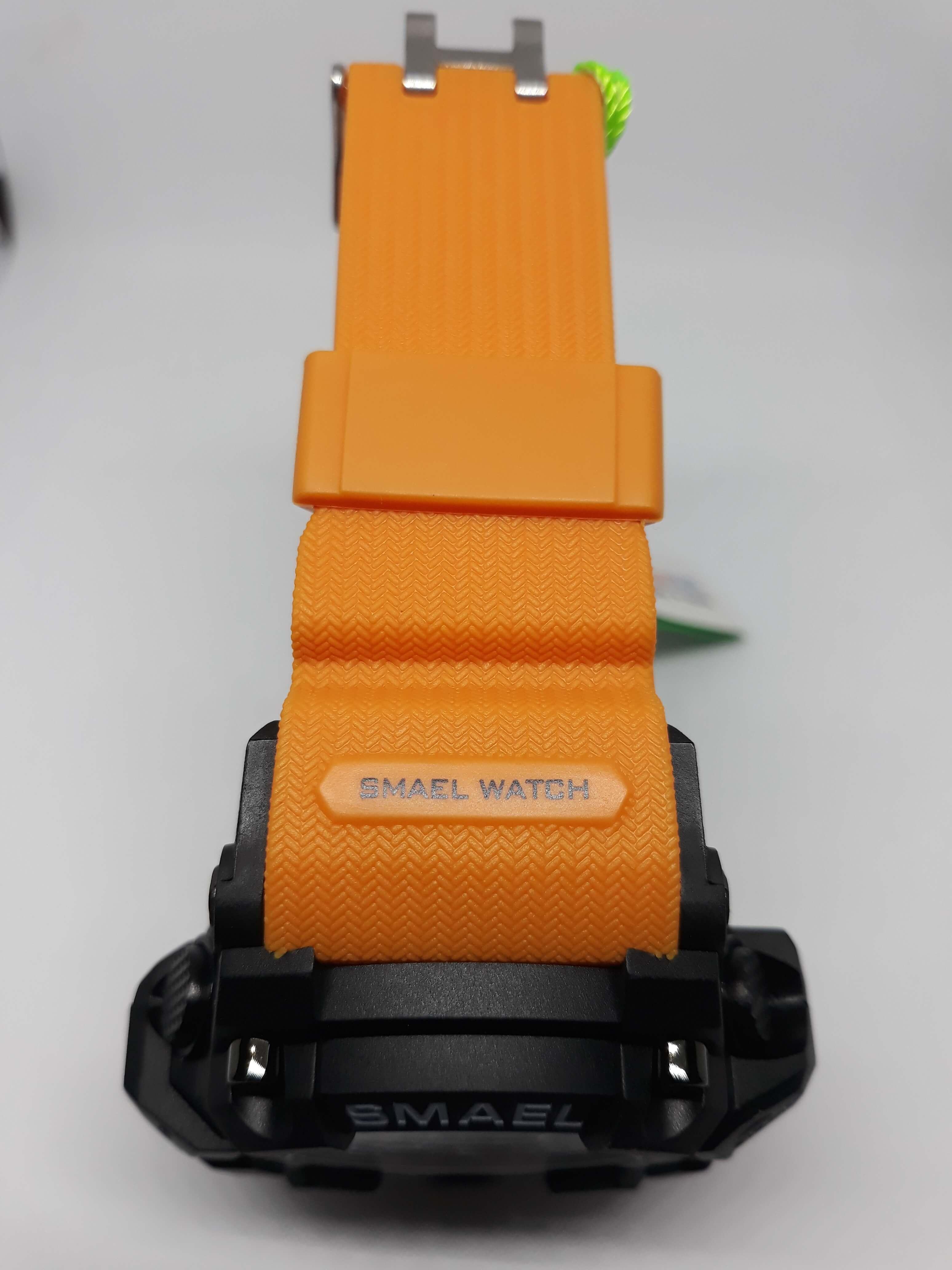 Zegarek Smael Camouflage pomarańczowy 13