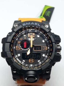 Zegarek Smael Camouflage pomarańczowy 2