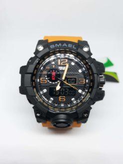 Zegarek Smael Camouflage pomarańczowy 7