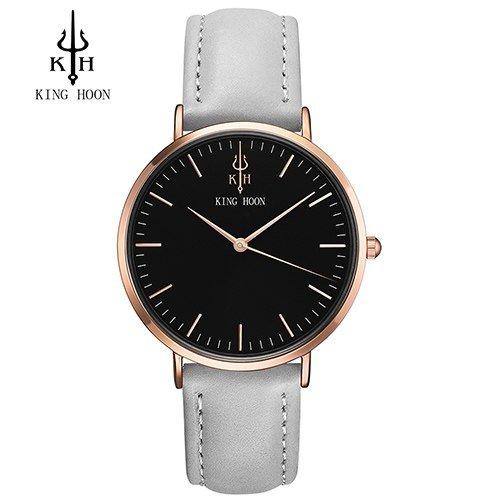 Zegarek King Hoon Star szary złoty czarny 1