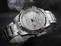 Zegarek Naviforce Rope srebrny 3