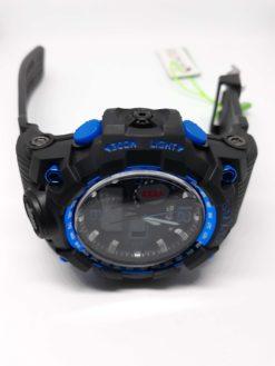 Zegarek Smael Camouflage niebieski czarny 2