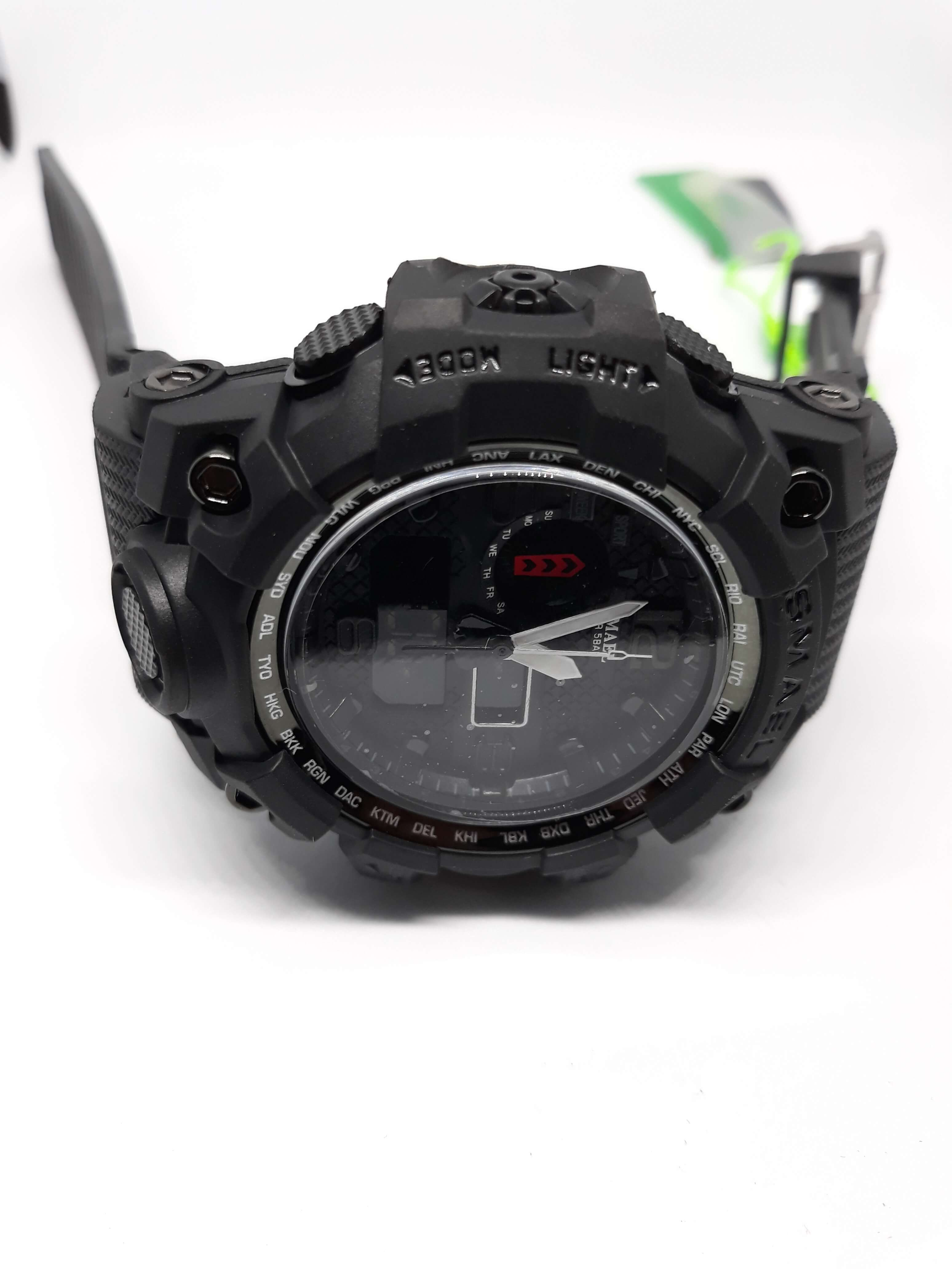 Zegarek Smael Camouflage czarny 8