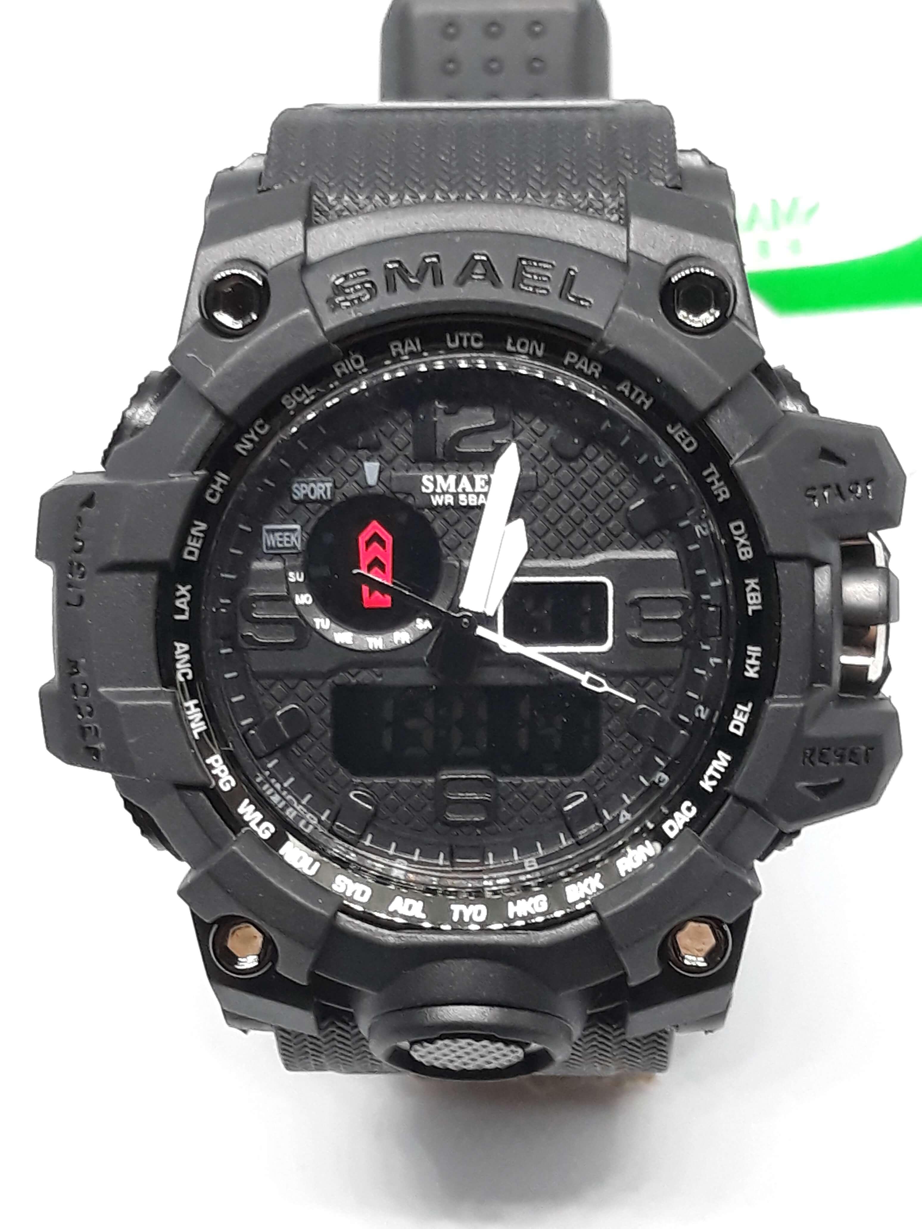 Zegarek Smael Camouflage czarny 7