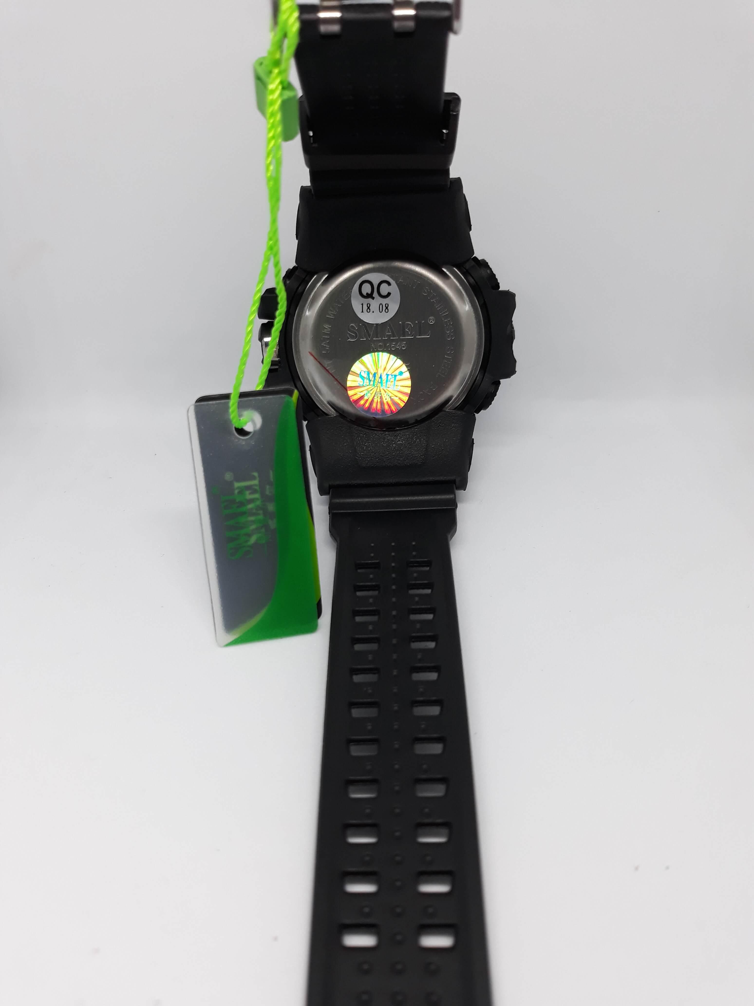 Zegarek Smael Camouflage czarny 10