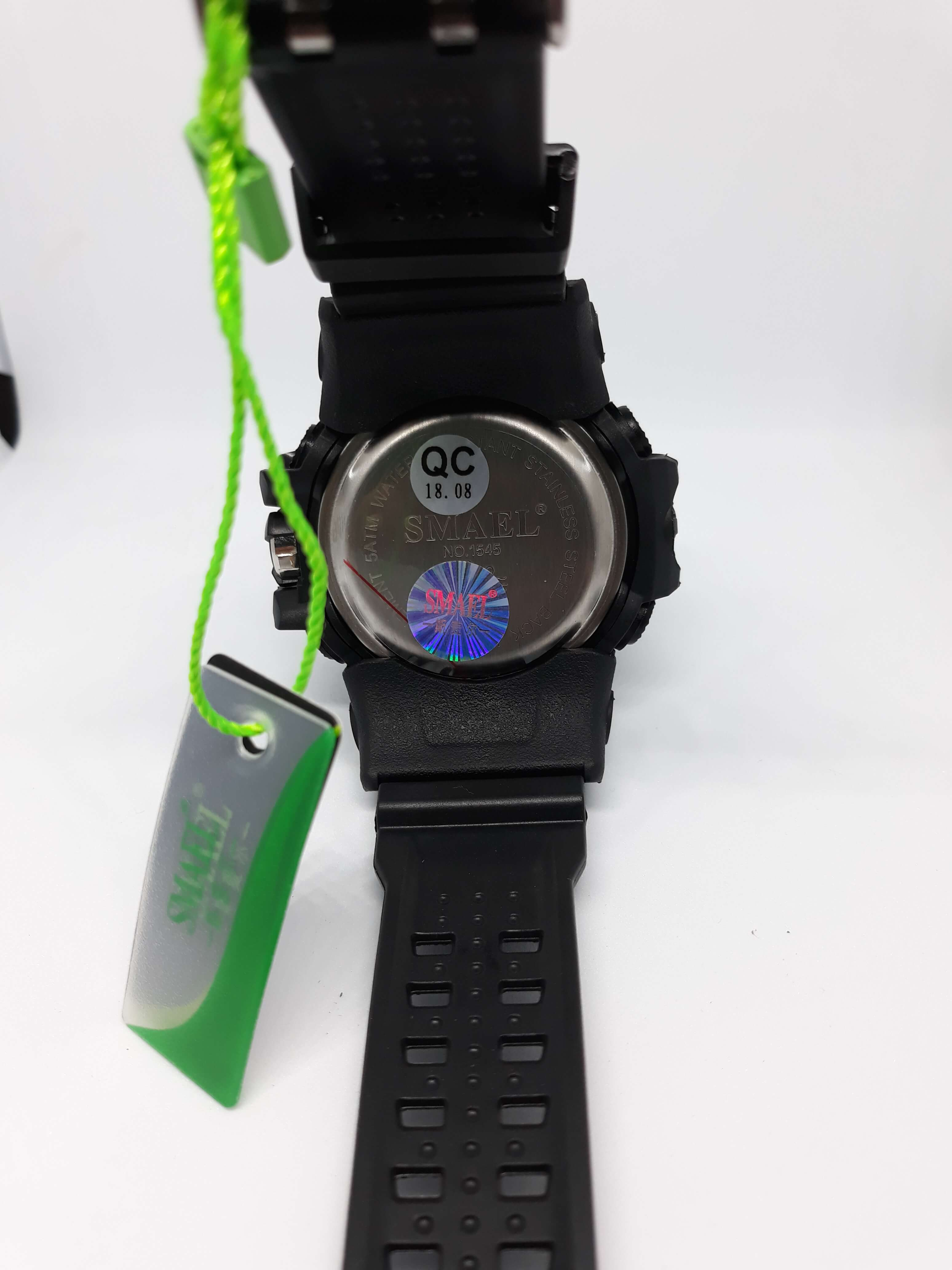 Zegarek Smael Camouflage czarny 11
