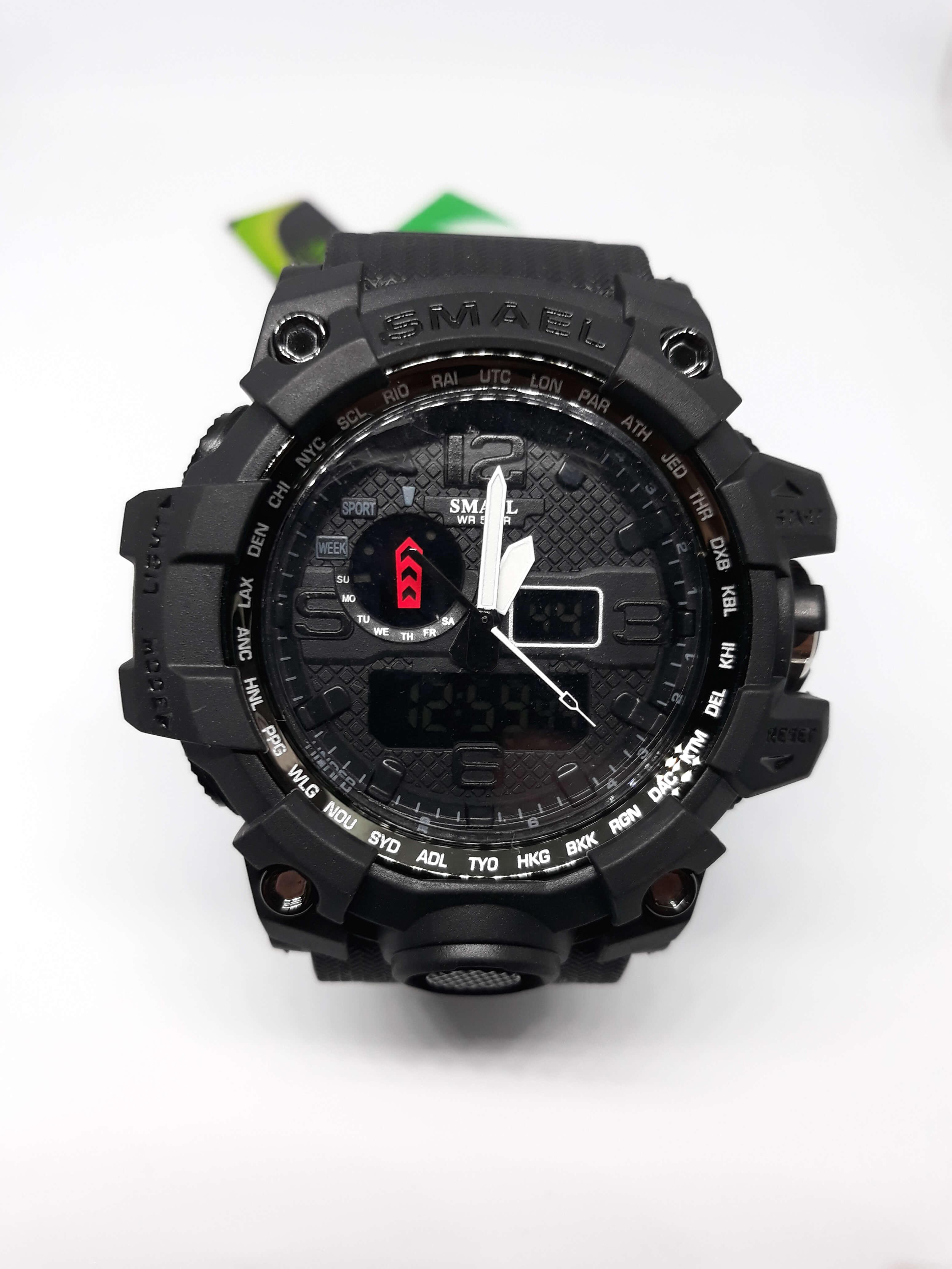 Zegarek Smael Camouflage czarny 13