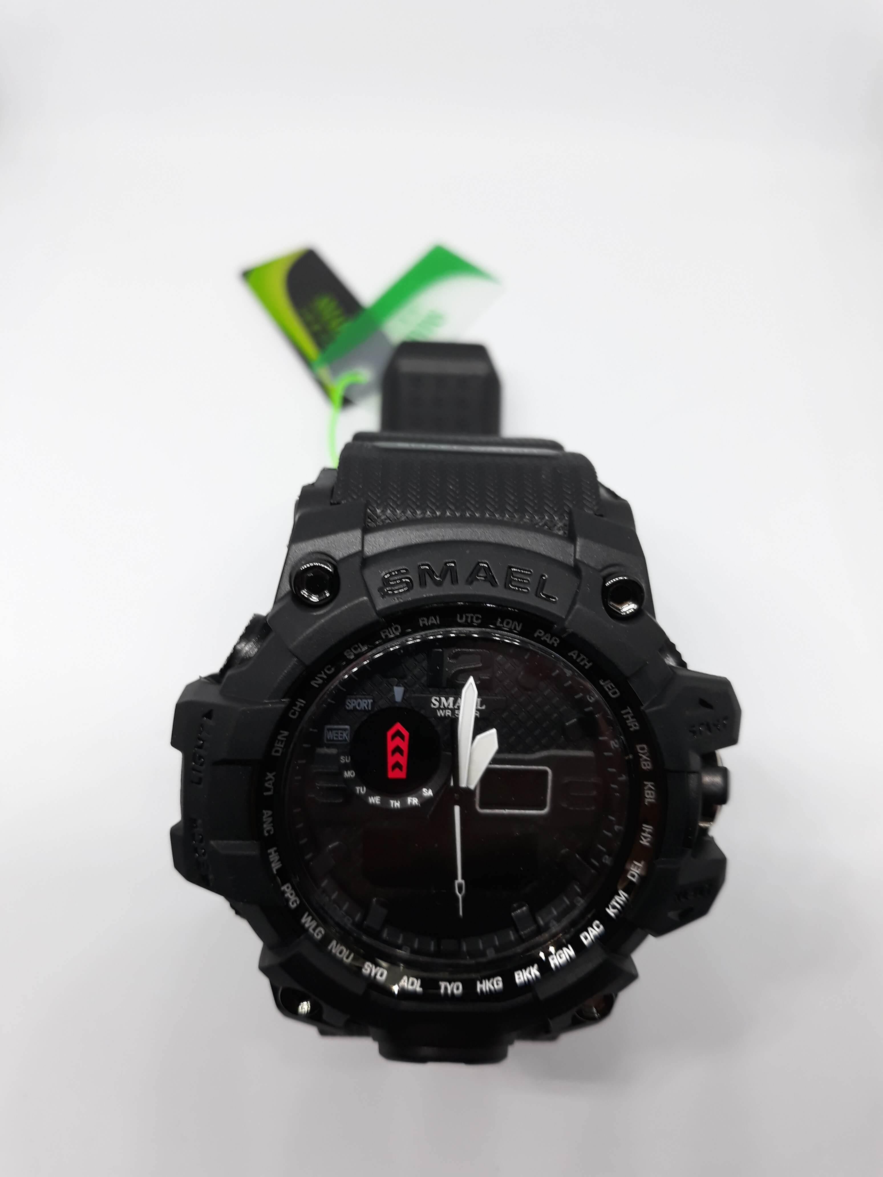 Zegarek Smael Camouflage czarny 14